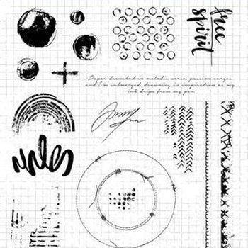 StudioLight Grunge - Clearstempel - nr.503
