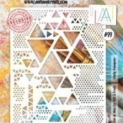 A&C - Stencil A4 - #99 driehoeken