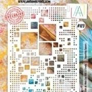 A&C - Stencil A4 - #109 vierkanten