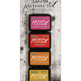 Distress Archival Mini ink set - kit 1