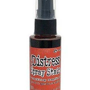 Distress spray stain - Crackling campfire