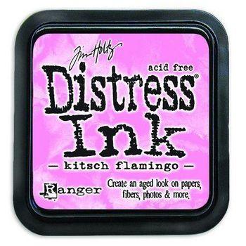 Distress ink pad - Kitsch flamingo