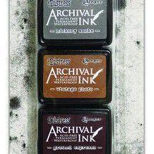 Distress Archival Mini ink set 3