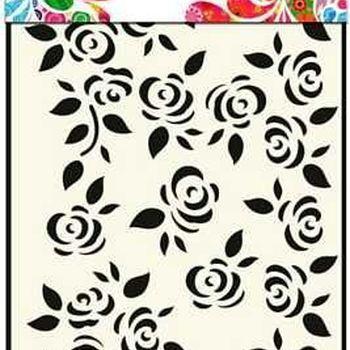 Mask Art - Roses