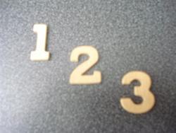 cijfers mini