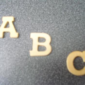 letters mini