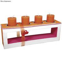 sierlijst voor 4 kaarsen