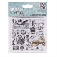 DC Chronology - urban rubber stamp - Curiosa