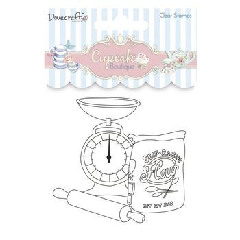 DC Cupcake Boutique - clear stamp baking