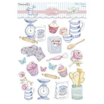 DC Cupcake Boutique - glitter stickers baking