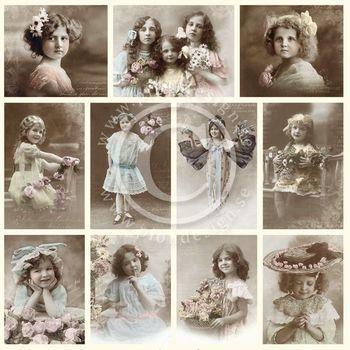 PD From Grandma's Attic - Girls