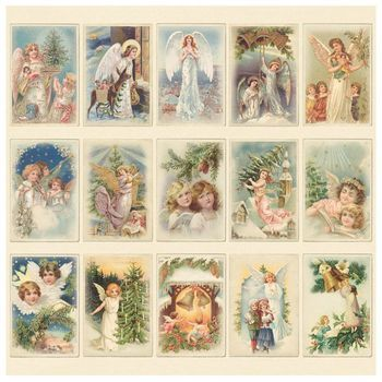 PD Images of the Past - Christmas Angels