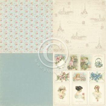 PD Paris Flea Market - Blue fabric 4