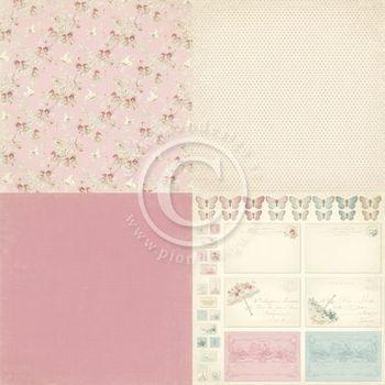 PD Paris Flea Market - Pink fabric 4