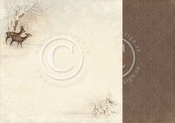 PD Wintertime in Swedish Lapland - Deer