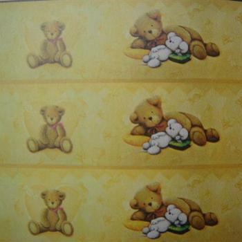 behangpapier knuffelbeer