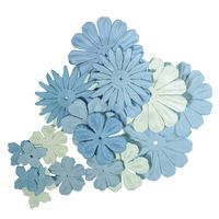 bloemen mix blauw