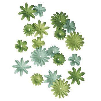 bloemen mix groen mini