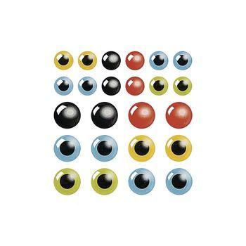 epoxy oogjes gekleurd