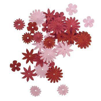 bloemen mix rood/roze mini