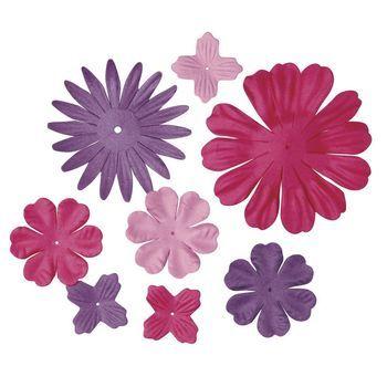 bloemen mix roze/paars