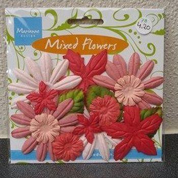 MD bloemenmix pink