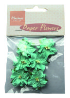 MD paper flowers blue