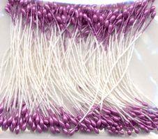 Meeldraadjes parel violet