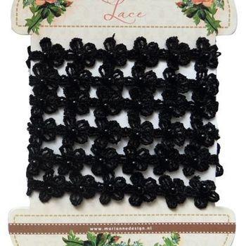 MD - Romantic lace - black