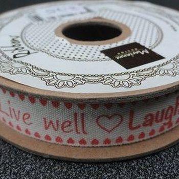 MD - tekstlint - Live Laugh Love