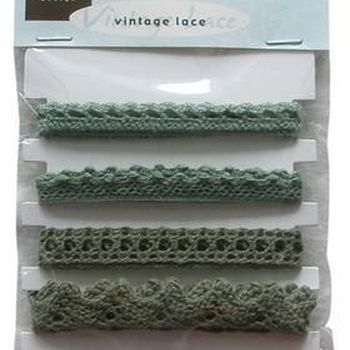 MD - Vintage lace - green