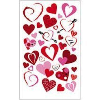 rub-on heart medley