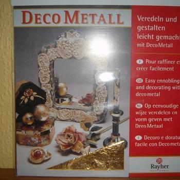 Deco-metaal - goud
