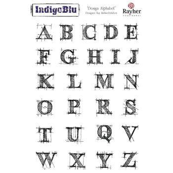 IndigoBlu - Design alfabet A5