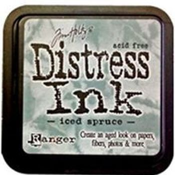Distress ink pad - Iced spruce