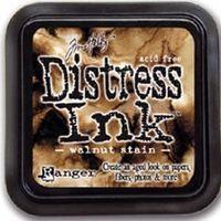 Distress ink pad - Walnut stain