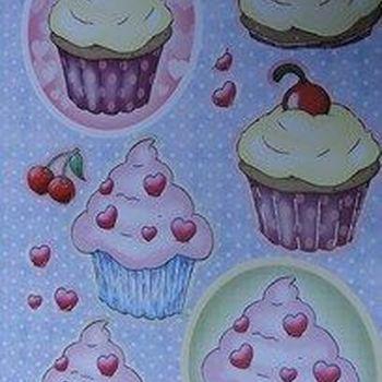 Stansvellen Cupcakes ovaal