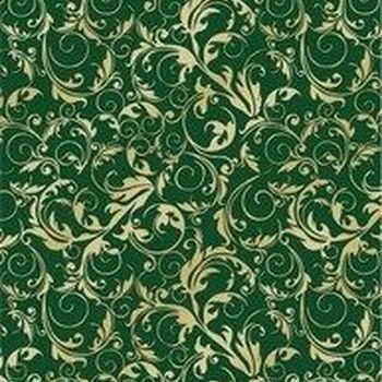 KF Fl.Swirls goud/green
