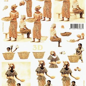 LS Afrikaanse vrouwen