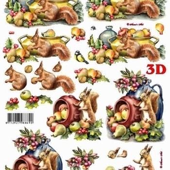 Le Suh - kerst eekhoorn