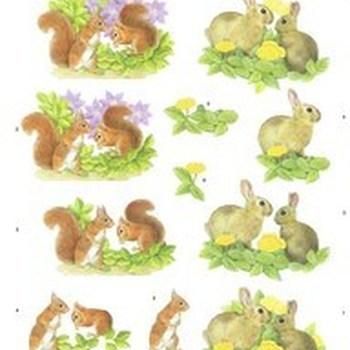 MM konijn/eekhoorn