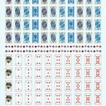 SH speelkaarten mini