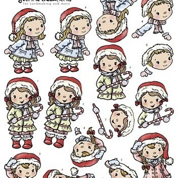 YC Kerst meisjes