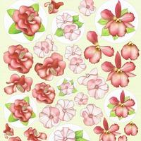 Bloemen rood - knipvel