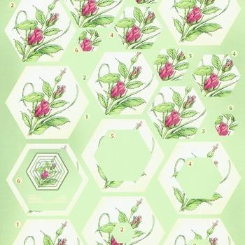 Flower pyramid 3 - knipvel
