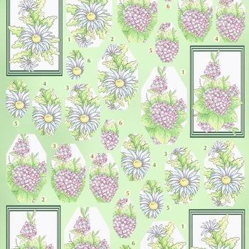 Flower pyramid 6 - knipvel