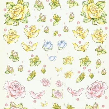 HF kleine rozen - knipvel