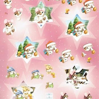 Mylo & friends 39 kerst - knipvel