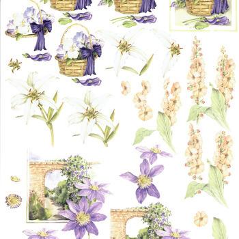 MD Mattie - flowers blue