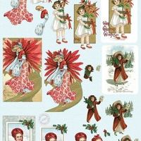 MD Vintage Christmas - red
